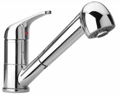 Single Lever Pull Out Spray Kitchen Sink Mixer Tap - 58093336